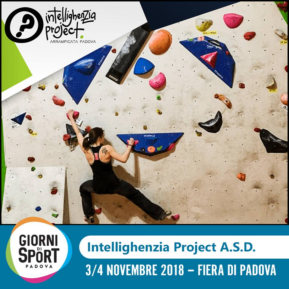 Arrampicata ai Giorni di Sport Padova con Intellighenzia Project 01ba2a49a491