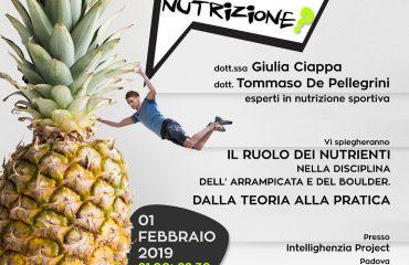 Arrampicata e nutrizione a Padova – Intellighenzia Project ... 5430760b1db1